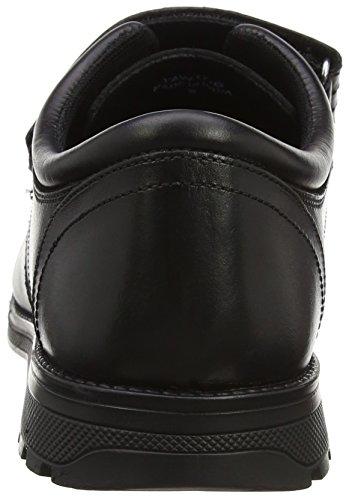 Classe Maschile Di Seconda Classe Velcro Basso Nero (nero)