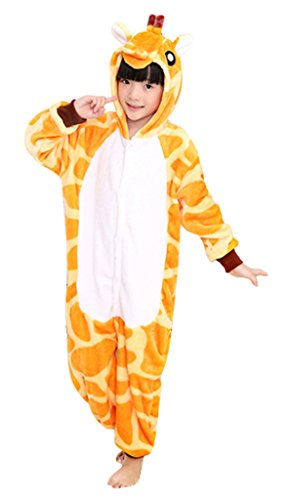 (KSFJV Kigurumi Anime Cosplay Kostüm,Giraffe,95)