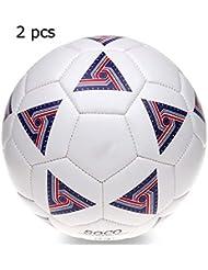 14025a964da8f Taille 3 PVC Filles Garçons De Football Ballon De Football Des Enfants  Toddler's Football Âge 3-6 Ans Enfants Cadeau De Noël Pour Intérieur Et  Extérieur ...