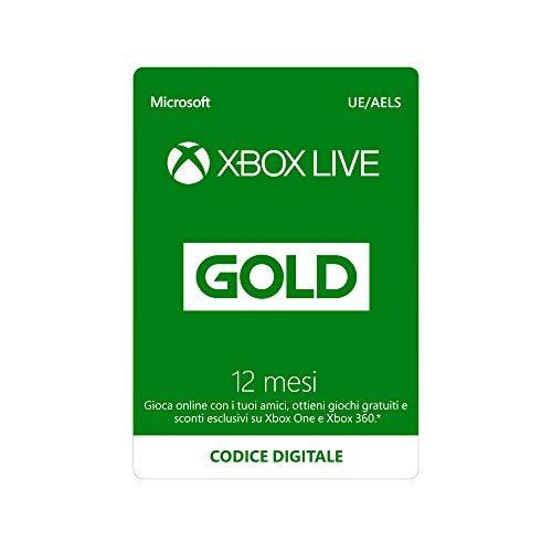 Abbonamento Xbox Live Gold - 12 Mesi | Xbox Live - Codice download