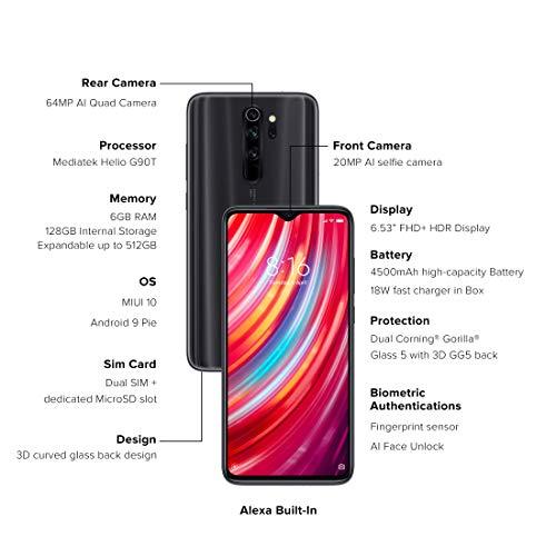Buy Redmi Note 8 Pro Shadow Black 6gb Ram 128gb Storage On Amazon Paisawapas Com