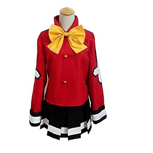 Sunkee Fairy Tail Wendy Marvell Cosplay Rot Kostüm, Größe XL ( Alle Größe Sind Wie Beschreibung Gesagt, überprüfen Sie Bitte Die Größentabelle Vor Der Bestellung )