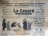 CANARD ENCHAINE (LE) [No 2100] du 18/01/1961 - LE CANARD VOUS RAPPORTE DE TUNIS LES DERNIERS TUYAUX SUR LA NEGOCIATION - UNE HISTOIRE DE MASQUES A LA MANIERE D'ALPHONSE ALAIS - MON CHARLES A SNO SECRET ABBAS A SON MYSTERE - LA CRISE BELGE - LES NEGRIERS.