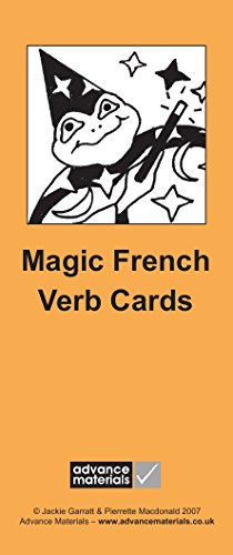 Magic French Verb Cards Flashcards (8): Speak French more Fluently! par  Jackie Garratt, Pierrette Macdonald