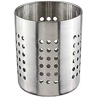 bambelaa. Cubiertos Escurridor cesta Escurreplatos Utensilios de cocina cesta Soporte para utensilios de cocina Soporte Metal Acero Inoxidable 11x 14cm