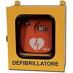 Gima 35335Armoire pour Défibrillateurs, utilisation en extérieur avec alarme