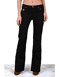 LOIS - Pantalon Suma Negro, Mujer