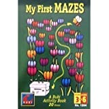 A Buki Activity Book - My First Mazes by Poof Slinky