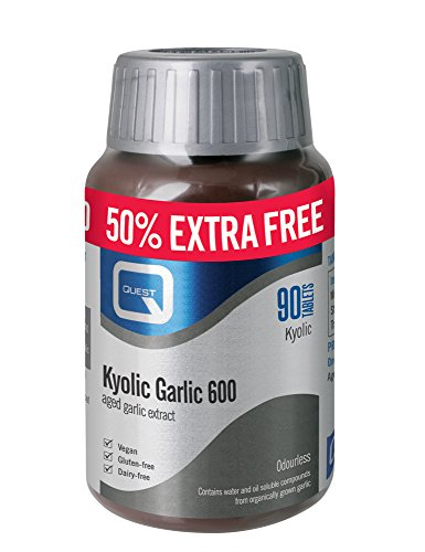 Quest Kyolic Garlic 600mg Extract, 60 Tablettes