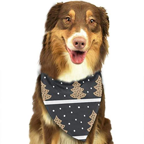 Wfispiy Tree Snow Fashion Pet Bandanas Dog Car Neck Scarf for Unisex Pet Boy - Girl Blues Brothers Kostüm