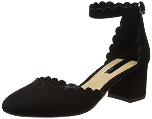 dorothy-perkins-2-part-court-scarpe-con-tacco-donna-nero-nero-38
