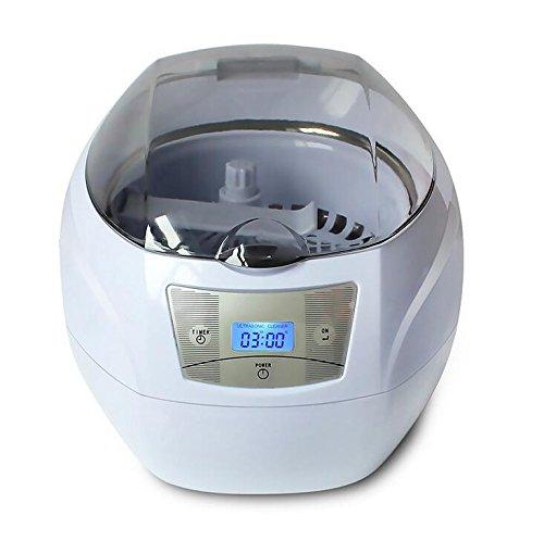 MTTLLS Ultraschall-Reinigungsmaschine Gläser Reiniger Schmuck Reinigungsmaschine Haushalt Zahnersatz Uhr Reiniger Für Schmuck, CD/DVD, Münzen, Gläser, Uhren Metall