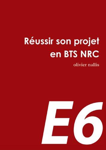 Le projet en BTS NRC