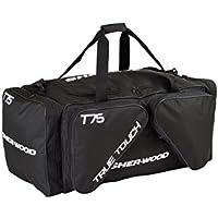 Sherwood SHER-Wood - Eishockeytasche T 75 True Touch I Tasche für Hockeyschläger I Hockey Bag aus Nylon I Transporttasche für Eishockeyausrüstung inkl. Tragegurte I geeignet für Eishockeyschläger
