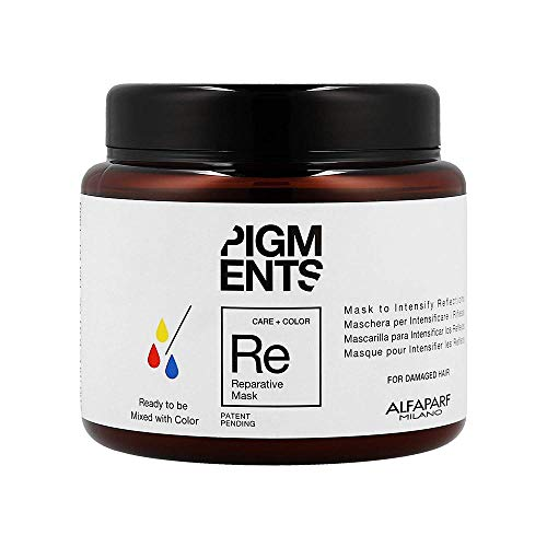 AlfaParf Pigments Reparative Mask (For Damaged Hair) 200ml -