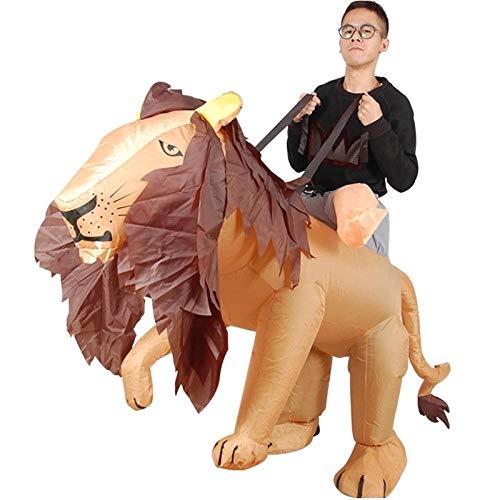 ypyrhh Traje Hinchable, Disfraz de Halloween, Disfraz de Disfraz de Adulto de Animales, Accesorios Divertidos de Halloween