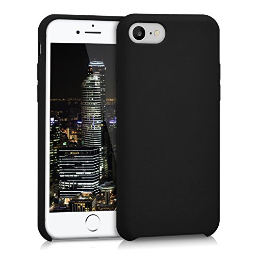 kwmobile Apple iPhone 7/8 Hülle - Handyhülle für Apple iPhone 7/8 - Handy Case in Schwarz matt