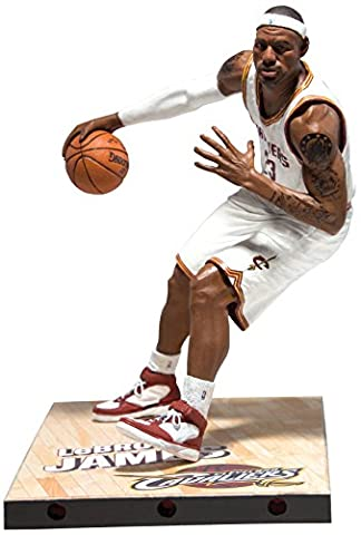 McFarlane Toys NBA Series 26 Lebron James Action Figurine