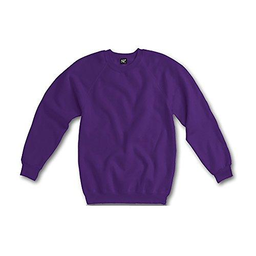 Sweatshirt à manches longues SG pour femme Bleu Marine