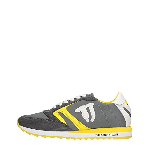 Trussardi Jeans 79S605 Sneakers Donna GREY/GREEN/YELLOW
