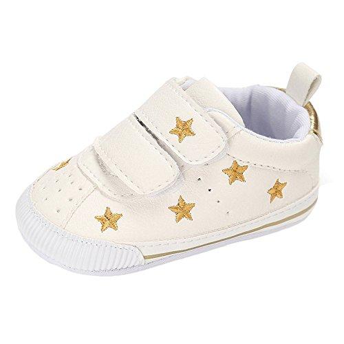 Matt Keely Bebé Niños Niñas Zapatos Primeros Pasos infantil Suela Blanda PU Zapatillas