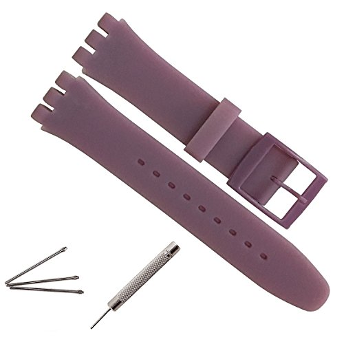 17mm-replacement-waterproof-silicone-rubber-watch-strap-watch-band-purple
