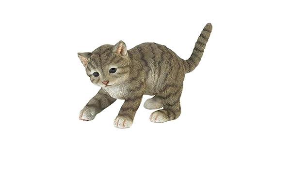 Tom /& Co Simpatica Statuetta di Gatto Che Gioca.