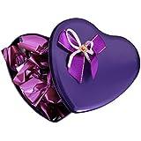 Skylofts Stylish Valentine Chocolate Love Heart Tin Gift Pack (108gms Med)