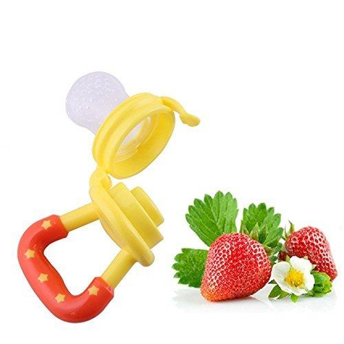 Da.Wa Alimentador de Alimentos Para el Pez/ón de Beb/é Alimentaci/ón de Alimentos Frescos Nibbler Beb/é Seguro Chupete Botellas Pezones