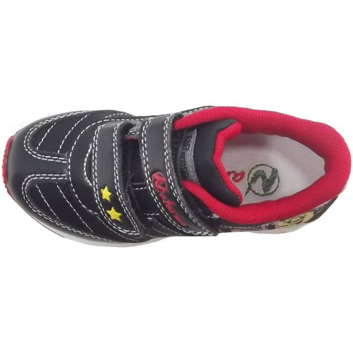 Naturino Sport 423 131-0012007780-01 Kinder Sneaker Schwarz (Nero)