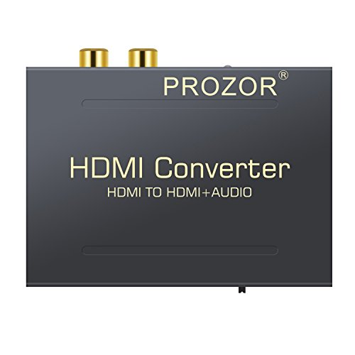Proster HDMI a HDMI Audio Divisor Digital HDMI a HDMI + SPDIF...