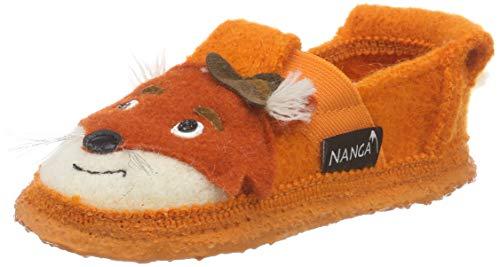 Nanga Unisex-Kinder Fox Niedrige Hausschuhe Orange 70, 24 EU