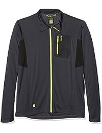 cheap for discount 93424 d01e6 Killtec Hombre Camiseta Milan con durchgehendem RV Antracita M de 2 x l,  PrimaveraVerano
