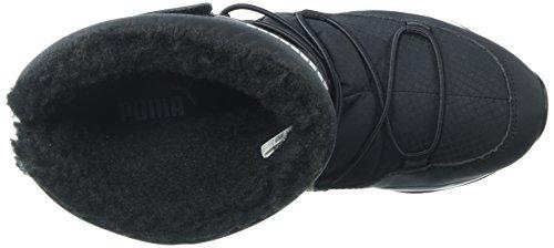 PUMA Unisex-Kids Trinomic Boot Sneaker  Black Black  2 5 M US Little Kid
