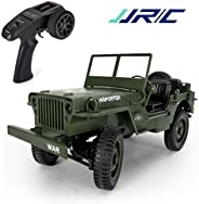 JJRC Q65 RC Car Bigfoot High Speed Jeep 2.4G 4WD Remote Control Cars 1/10 Scale Toy Off-Road Vehicle By PRIME