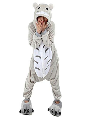 Keral Cosplay Kostüme Tierkostüme Erwachsene Pyjamas Kostüm Pyjamas Totoro Größe (Kostüm Frauen Totoro)