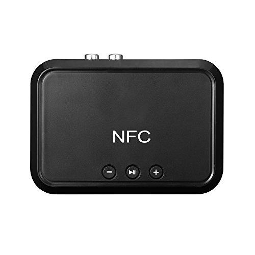 Bluetooth 4.1 Empfänger Tragbare Audio-Kit Wireless Adapter mit 3,5 mm Audio Kabel für NFC Desktop Lautsprecher Home Auto Stereo Musik