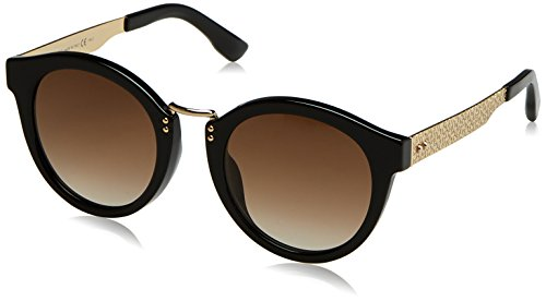 Jimmy Choo Damen PEPY/S JD QFE 50 Sonnenbrille, Schwarz (Black Rosegld/Brown Sf),