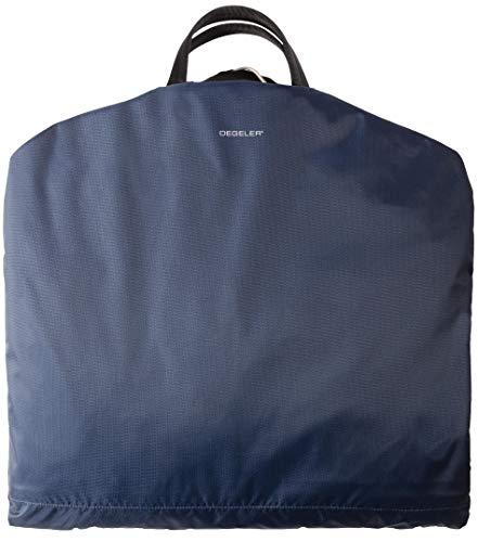 Business Kleidersack für Anzüge - Kleiderschutz-Hülle faltbar & wasserabweisend - optimal für Flugzeug-Reisen nur mit Handgepäck - SkyHanger® DEGELER Anzugtasche & Business-Tasche für Herren