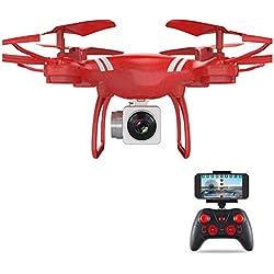 Patzbuch RC Quadcopter Drone, WiFi Mando a Distancia 360° Rotación Quadcopter con cámara HD al Aire Libre Juguetes Regalo para niños Adultos