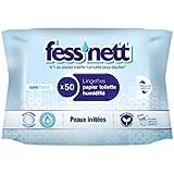 Fess'Nett - Papier Toilette Humidifié - Peaux Irritées x50 - Lot de 3