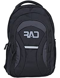 Rare And Demanded Hustler Black Grey 27 L Backpack/School Bag | College Bags | Backpacks For Men | Backpacks For...