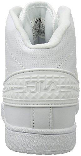 Fila Women Base Falcon 2 Mid Wmn, Hohe Sneakers femme Weiß (White)