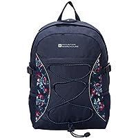 Mountain Warehouse Bolt 18 Litre Backpack - Patterned Rucksack, High Viz Daypack, Hydration Compatible & Pockets Daysack -Ideal For Summer Travelling, Festivals, Camping