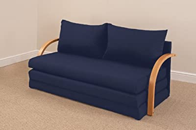 Fold Out Double Foam Sofa Bed Chloe - NAVY - cheap UK light store.