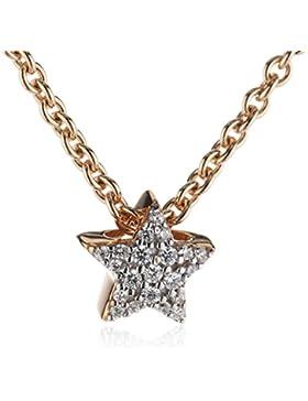 Esprit Damen Halskette 925 Sterling Silber Zirkonia Petite ESNL92979C420