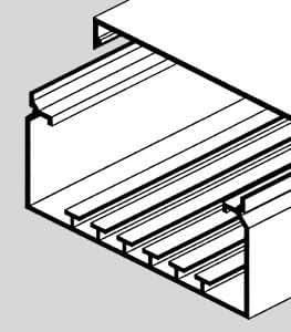 Ggk - Goulotte Electrique PVC 100x230 mm par 4 mètres
