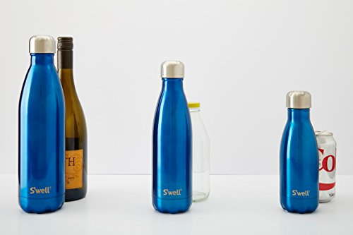 S'well Herren Damen Große Londoner Schornstein Flasche Schwarz - 4