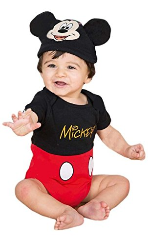Image of Dress Up Mickey Mouse Costume, 12-18 Months