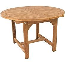 Mesa teca extensible para terraza 170 - Portes Gratis
